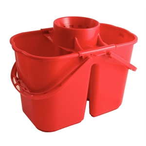 Mop Bucket Colour Coded Twin Bucket