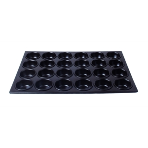 Muffin Tray 24 cup C/Steel