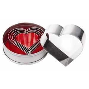 Pastry Cutter Set Heart