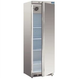 Polar Single Door Fridge Stainless Steel 400Ltr