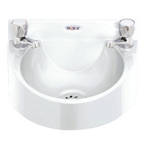 Polycarbonate White Wash Hand Basin