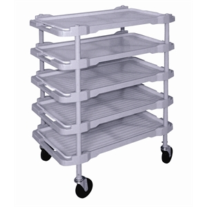 Polypropylene Trolley 5 Tier