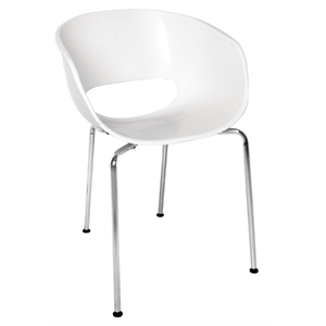 Polypropylene Tub Dining Armchair (Each)