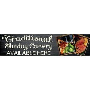 PVC Carvery Banner