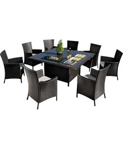 Rattan Effect 8 Seat Furniture Set