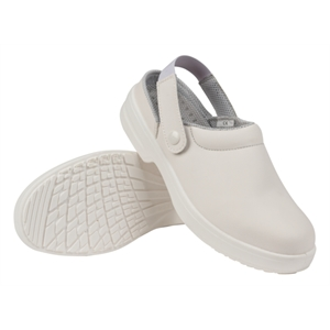 Safety Clogs White