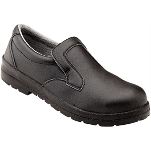 Safety Shoe Slip-On Black.