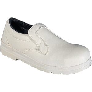 Safety Shoe Slip-On White.