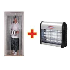 SPECIAL OFFER Chain Door Fly Screen And Fly Killer Combo