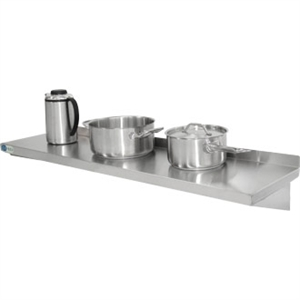 Stainless Steel Kitchen Shelf 1500x 300mm