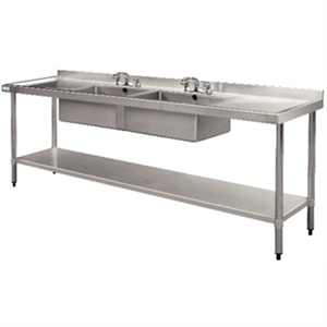 Stainless Steel Sink - 2400 x 600mm