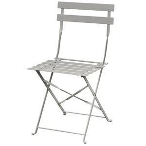 Steel Pavement Style Grey Chair (Each)