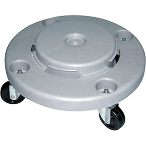 Strong Plastic Dolly for 120Ltr Bin
