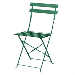 StylemPavement Steel Chair Garden Green