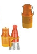 Traffic Cone Hazard Warning Lamps