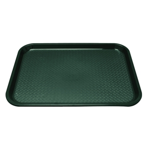 Trays: Fast Food Tray Green