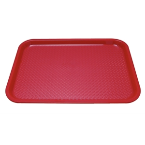 Trays: Fast Food Tray Red