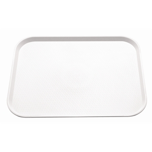 Trays: Fast Food Tray White