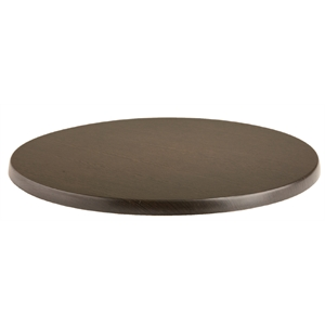 Werzalit Round Table Top Wenge 800mm